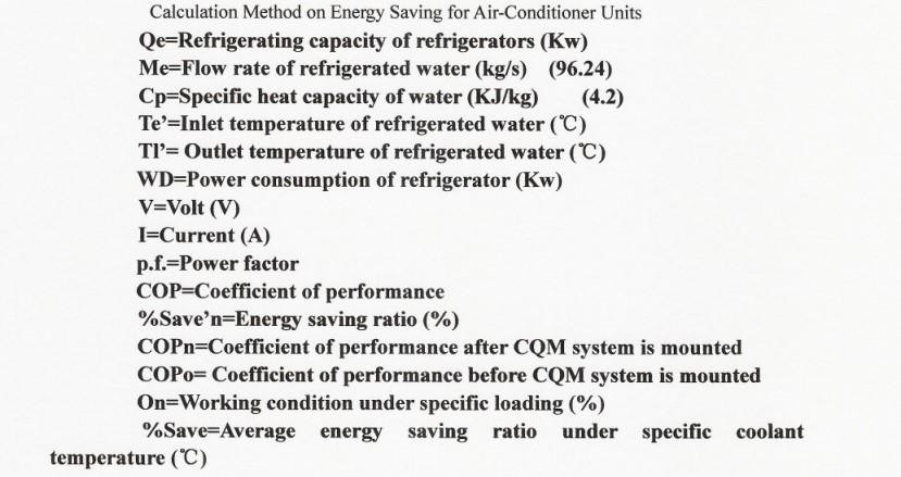 Guanzu energy savings